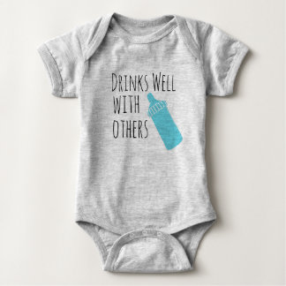 drinks well with others baby bodysuit