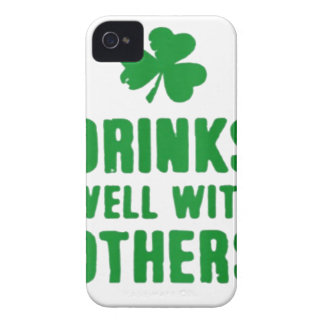 Drinks Well With Others iPhone 4 Case-Mate Case