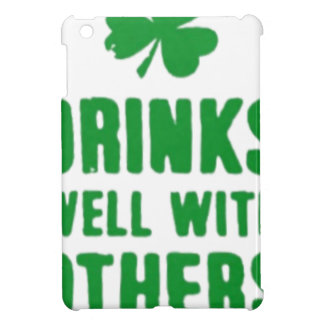 Drinks Well With Others St. Patrick's Day Tee iPad Mini Covers