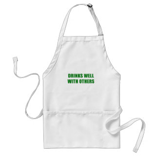 Drinks Well with Others Standard Apron