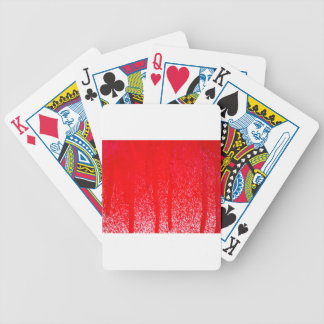 dripping blood bicycle playing cards