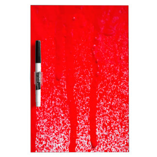 dripping blood dry erase board
