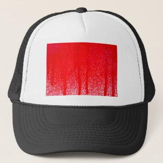 dripping blood trucker hat