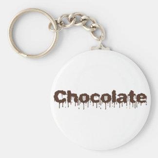 Dripping Chocolate Key Ring
