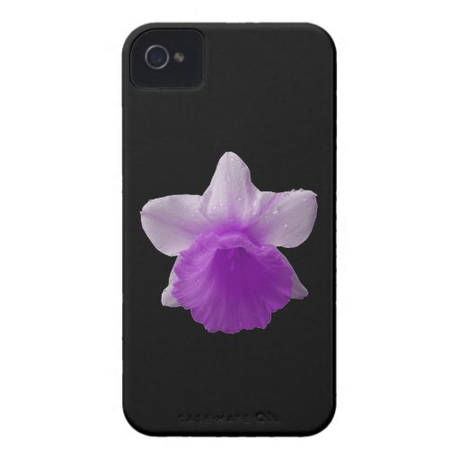 Dripping Daffodil Purple Blackberry Bold Case