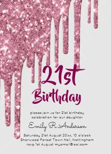 Sweet 16 Invitations   Zazzle com au
