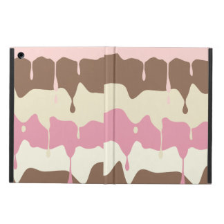 Dripping Neapolitan Ice Cream iPad Air Cases