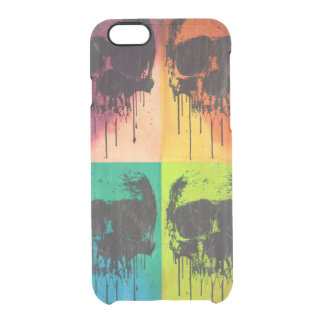 DrippingSkull POPART Uncommon Clearly™ Deflector iPhone 6 Case