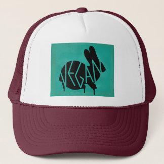 Drippy Vegan Bunny Stencil Hat
