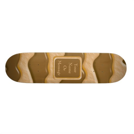 Drips - Chocolate Peanut Butter Skate Board Decks