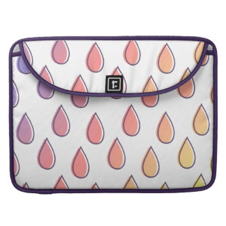 Drips - Rainbow Pattern Sleeves For MacBook Pro