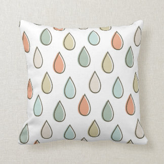 Drips - The Mod Throw Pillow