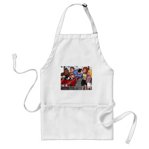 Drive By Hickey Gangs Funny Tees Mugs & Gifts Apron