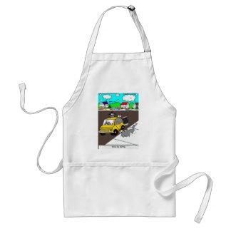 Drive-By Salting Slug Gangs Funny Gifts & Tees Standard Apron