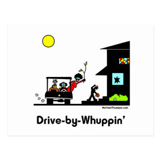 Drive-By-Whuppin Postcard