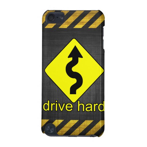 Drive Hard iPod Touch 5G Cover