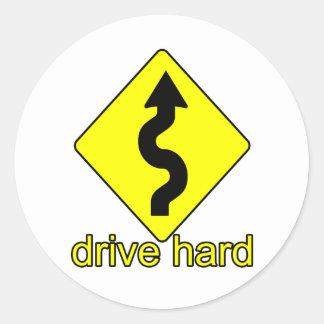 Drive Hard Stickers