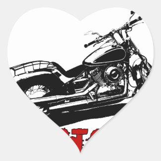 Drive it like you stole it - Bike/Chopper Heart Sticker
