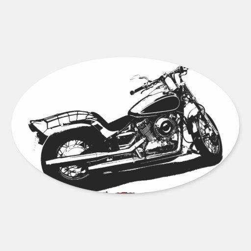 Drive it like you stole it - Bike/Chopper Oval Stickers