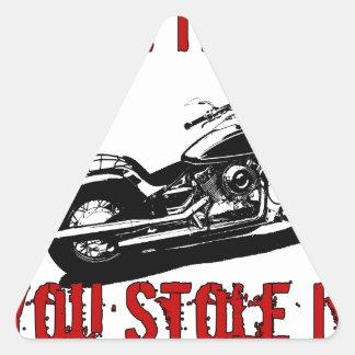 Drive it like you stole it - Bike/Chopper Triangle Sticker