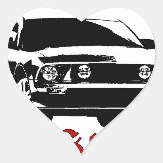 Drive it like you stole it - Domestic Heart Sticker