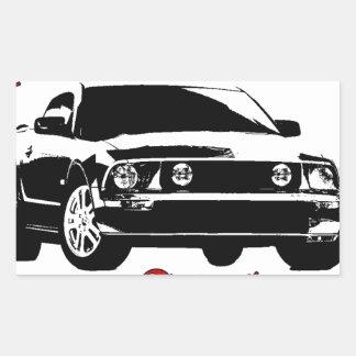 Drive it like you stole it - Domestic Rectangular Sticker
