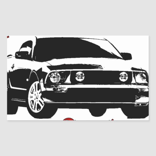 Drive it like you stole it - Domestic Rectangle Stickers
