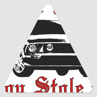 Drive it like you stole it - Domestic Triangle Sticker