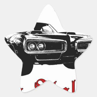 Drive it like you stole it - muscle car star sticker
