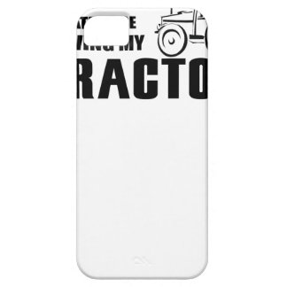 Drive my Tractor iPhone 5 Cover