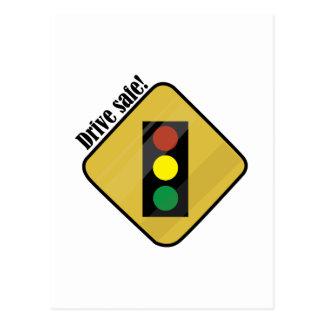 Drive Safe! Postcard