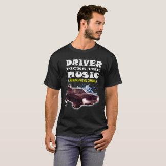 Driver Picks The Music Shotgun Shuts His Cake Hole T-Shirt
