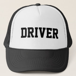 Driver Rideshare Chauffeur Taxi Transportation Trucker Hat