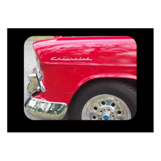 Drivers side view classic car side marker business card template
