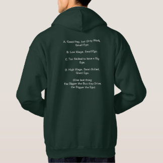 Drivers With Egos Hoodie