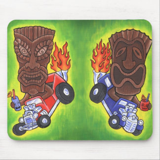 Drivin Tikis Mouse Pad