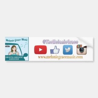 Driving Around Karaoke Bumper Sticker