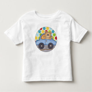 Driving Bear Toddler T-Shirt