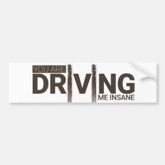 Driving Bumper Sticker