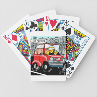 Driving Cartoon 9308 Bicycle Playing Cards