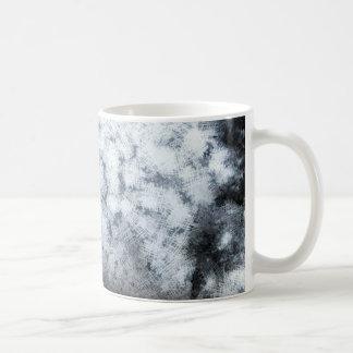 Driving during thick fog coffee mug