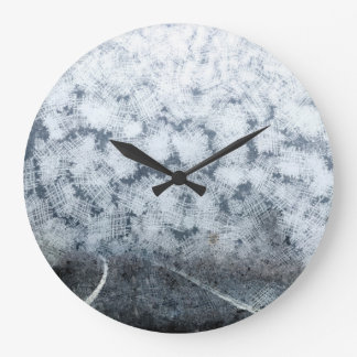 Driving during thick fog large clock