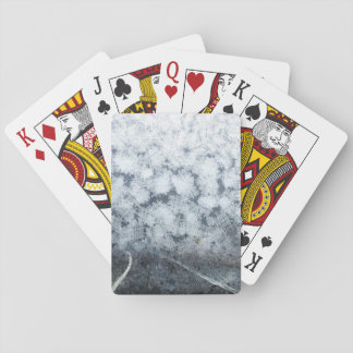 Driving during thick fog playing cards