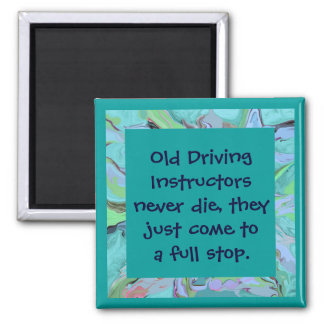 driving instructors joke magnet