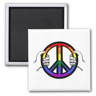 Driving Peace Magnet