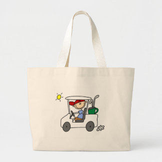 Driving The Golf Cart Bag