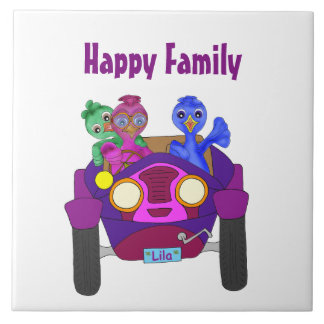 Driving The Kids by The Happy Juul Company Tile