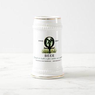 DRM Ankh Logo Beer Stein 18 Oz Beer Stein