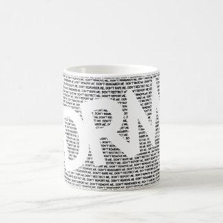 DRM: Don't Restrict Me (REMIX) Basic White Mug