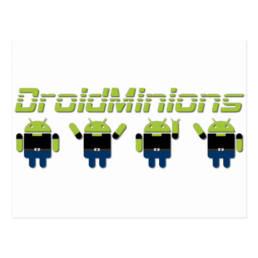 Droid Minions Post Cards